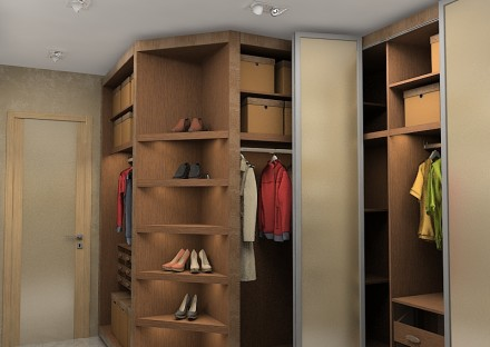 master dressing area